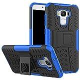 ASUS Zenfone 3 Max 5.5 (ZC553KL) Custodia, FoneExpert® Resistente alle cadute Armatura dell'impatto Robusta Custodia Kickstand Shockproof Protective Case Cover Per ASUS Zenfone 3 Max 5.5 (ZC553KL)