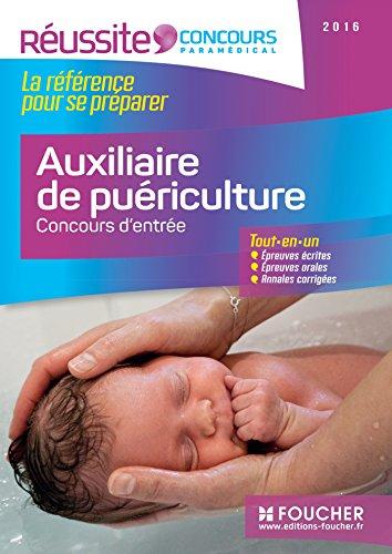 Auxiliaire de puériculture - Concours d'entrée 2016 - Réussite Concours Nº16
