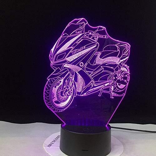 wangZJ 3d Illusion Light Usb Led Touch Light 7 Color Change Led...
