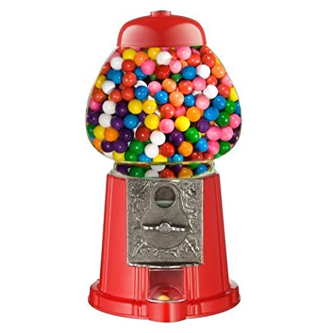 Great Northern Popcorn Company Old Fashioned Vintage Candy Gumball Machine Bank, 15-Inch by Great Northern Popcorn Company