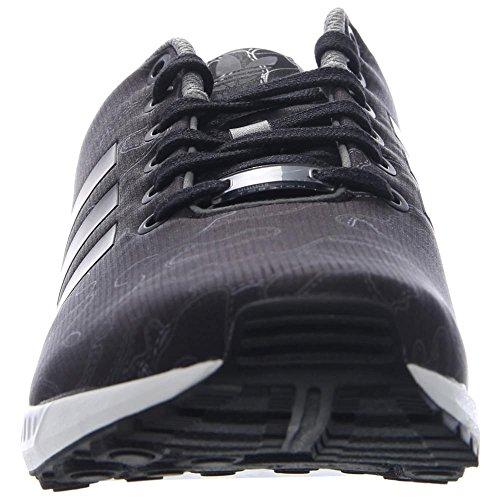 Adidas Zx Flux (nucleo nero / corsa Bianco) Scarpe Aq4902 (7) CBLACK,CBLACK,FTWWHT