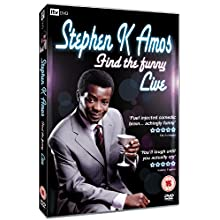 Coverbild: Stephen K Amos - Find the Funny