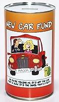 New Car Saving Fund - Savings Tin - LARGE