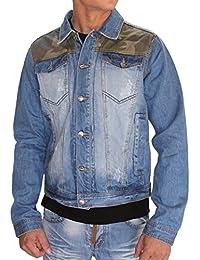 SIXTH JUNE - Veste jeans avec empiecements camouflages