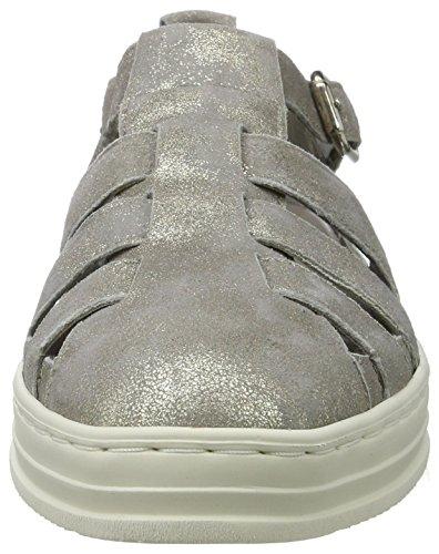 ara Damen Courtyard sandalen Grau (Silber)