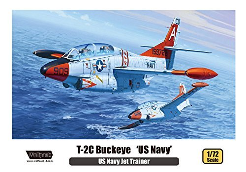 Wolfpack Designs (Wolfpack 1/72 T-2C Buckeye 'US Navy' US Navy Jet Trainer WP10005 by Wolfpack Design)