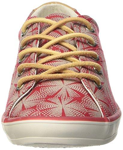 TBS Caroli Damen Sneakers Rot - Rouge (Aborigène/Lin)