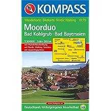 Bad Kohlgrub, Bad Bayersoien (Moorduo): 1:30.000/1:10.000. GPS-genau. Wandern/Rad