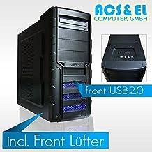 Ultimate GAMER PC - X3RC0N Systeme AMD APU A8-7600, 4x 3.8GHz Quad Core | 8GB DDR3-1600 | 240GB ultraschnelle SSD Disk | Nvidia GeForce GTX-1060, 3GB | Mainboard mit AMD Chipsatz | 580W Netzteil,silent | 5.1 Soundchip | 24x DVD-Brenner [98310_OHNE]