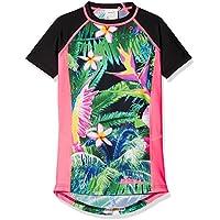 O'Neill niña Zuma Beach S/Slv Skin Kiama–con protección UV Camisetas, niña, Zuma beach s/slv skin, Green Aop, 8