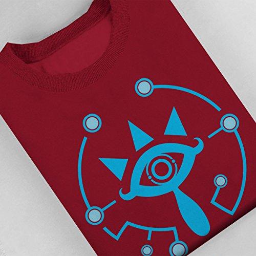 Legend Of Zelda Wake Up Link Women's Sweatshirt Cherry Red