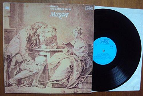Kanons und gesellige Lieder. Dietrich Knothe, Wiedemann, Körner, Hausmann, Berliner Solisten, Walter Olbertz, u.a.. Eterna Edition Stereo