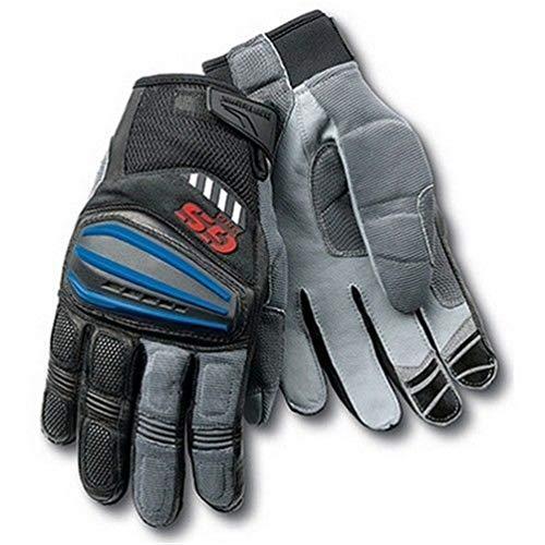 MäNnliche Motorrad Glloves Volle Finger Gelbe Handschuhe Motorrad-Rallye Motorradhandschuhe Fahrradhandschuhe -