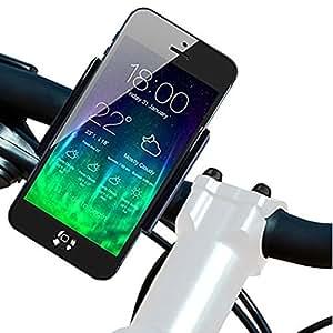 Koomus BikeGo 2 Bike Mount Holder Cradle for iPhone 6 6+ 5 5S 5C 4 4S iPod Touch Galaxy S5 S4 S3 Note 2 Note 3 LG G3 HTC One M8 Nokia Lumia 1020 Google Nexus 5 Sony Xperia Z2 GPS