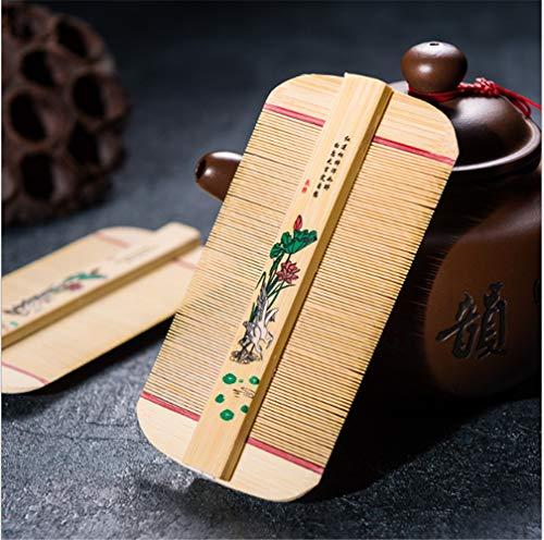 Peine De Bambú Parrilla Peine A Los Piojos De La