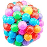 Scienish 100pcs/lot Eco-Friendly Colorful Soft Plastic Water Pool Ocean Wave Ball Baby Funny Toys Stress Air Ball Outdoor Fun