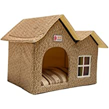 ZPP-Productos Para Mascotas de lujo Caliente Mascotas Dog House Cat Litter Ideas,Beige