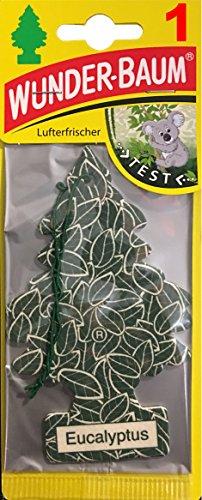 WUNDER-BAUM EUCALYPTUS Lufterfrischer Duftbaum Eucalyptus Little Tree Autoduft Duftbaum (12)