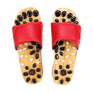 Acupressure Foot Massagerfumassage Schuhe Fu Reflexzonen Massage Naturheilkunde Fumassage Akupunktur Gesundheitspflege Massage Schuhe