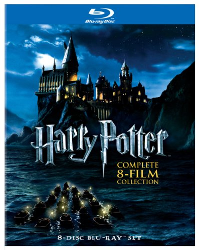 Harry Potter: The Complete 8-Film Collection [Blu-ray] [Import italien]
