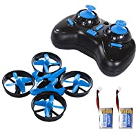 SGILE Mini Drone for Kids and Beginners - Headless Mode CF Mode One Key Return and 3D Flip H36 Remote Control Nano Quadcopter RTF, 2.4GHz 4CH 6Axis RC Stunts UFO from SGILE