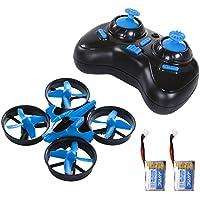 Price comparsion for SGILE Mini Drone Kids Beginners - Headless Mode CF Mode One Key Return 3D Flip H36 Remote Control Nano Quadcopter RTF, 2.4GHz 4CH 6Axis RC Stunts UFO