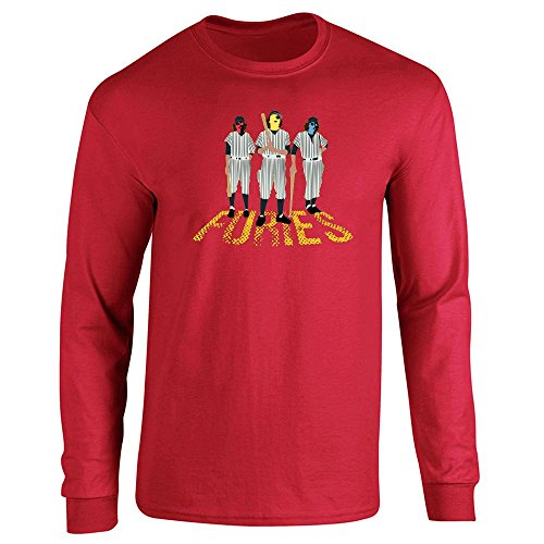 Pop Threads Herren T-Shirt Gr. XX-Large, Rot