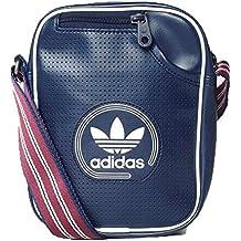 ハンドバッグ adidas – Mini Bag Perfored 青/白