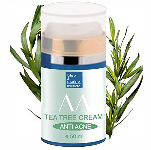 Feuchtigkeitsspendende Gel Teebaumöl und Aloe Vera Anti-Akne 50 ml Unisex