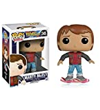 Retour vers le Futur 2 POP! Movies Vinyl figurine Marty McFly Hoverboard 10 cm