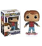 Regreso al Futuro II POP! Movies Vinyl Figura Marty McFly Hoverboard 10 cm