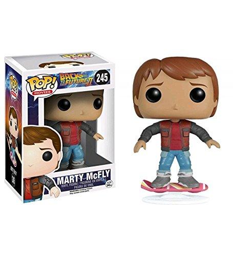 Zurück in die Zukunft II POP! Movies Vinyl Figur Marty McFly Hoverboard 10 cm
