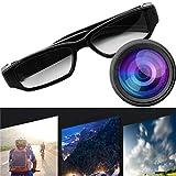 Mini 720 P HD Kamera Brille Brillen DVR Video Recorder Cam Camcorder (Farbe: Schwarz)
