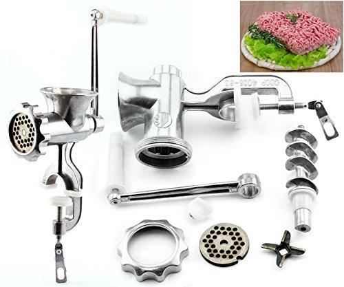 Preisvergleich Produktbild Generic l Minc Pasta Klinge Fleisch K Grinder Sausage en Aluminium Handheld l Fleischwolf Handheld M Küche Rindfleisch Handh
