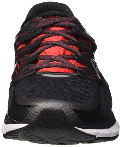 Saucony Zealot, Scarpe da Corsa Uomo Multicolore (Red/Bk/Silver Pa)