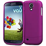 vau Snap Case Slider - matte purple - zweigeteiltes Hard-Case für Samsung Galaxy S4