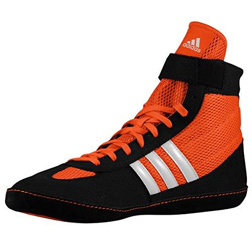 Adidas combattimento Velocità 4 Wrestling Scarpe gioventù Bahia Blu / calce Size 1.5 Orange,Black,White