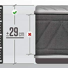 ROYAL-SLEEP-Colchones-viscoelsticos-Carbono-firmeza-Alta-Gama-Alta-Efecto-regenerador-Varias-Medidas-Altura-25cm-Colchones-Ceraminc-Plus