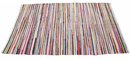 Homescapes Alfombra Chindi 70 x 120 cm