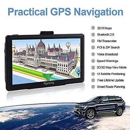 Yojetsing-GPS-Navi-Navigation-fr-Auto-LKW-PKW-16GB-Lebenslang-Kostenloses-Kartenupdate-Navigationsgert-mit-POI-Blitzerwarnung-Sprachfhrung-Fahrspurassistent-2019-Europa-UK-52-Karten