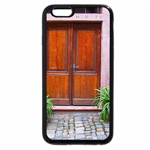 iPhone 6S / iPhone 6 Case (Black) front door