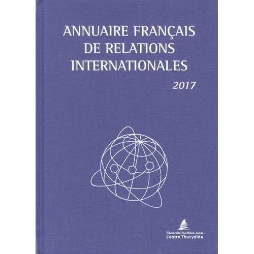 Annuaire français de relations internationales : Volume 18