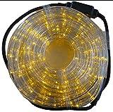Gartenpirat LED Lichtschlauch gelb 9 m für Garten Innen/außen