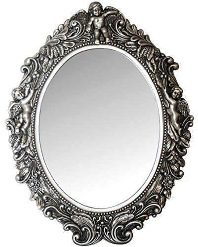 Antik-silber Finish Highlights (My Flair 109017 Ovaler Spiegel