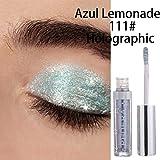 murieo Mujer Maquillaje Cosmético de sombra de ojos único color Waterproof Durable paleta de...