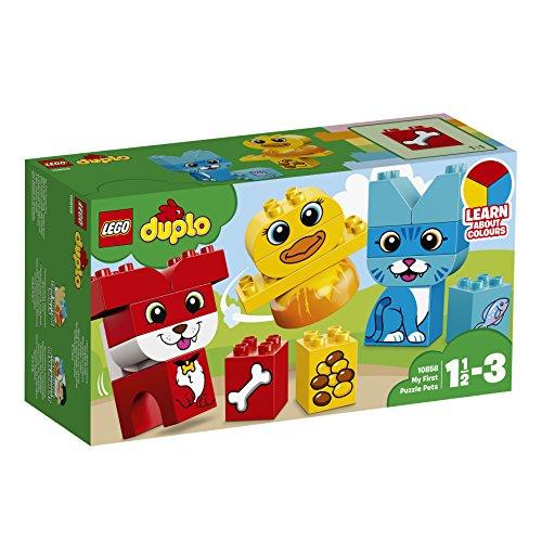 LEGO® DUPLO® Meine ersten Tiere – Farben lernen 10858 Steine für Kleinkinder
