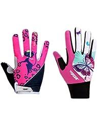 Vertast Ladies absorbant les chocs Gel Pad Full Finger Gants pour cyclisme Fitness