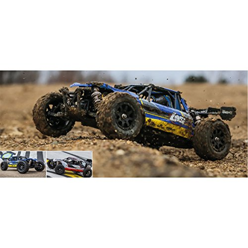 Losi 8ight-e (LOSI MINI 8IGHT-DB 1/14 4WD BUGGY RTR WEISS / ROT)