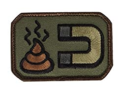 Mil-Spec Monkey Shit Magnet Velcro Patch - Forest