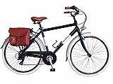 Via Veneto By Canellini Fahrrad Rad Citybike CTB Herren Vintage Retro Via Veneto Alluminium Schwarz